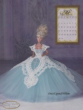 1997 Miss March Royal Ballgowns, Annie Potter Crochet Doll Clothing Pattern - $7.95
