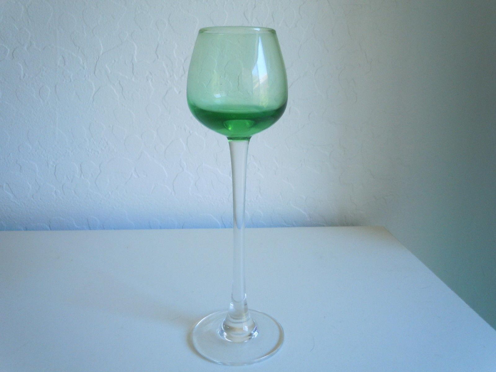 Lenox Gems Green Cordial Glass