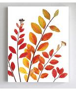 Pressed Fall Leaves Botanical Print - Autumn Decor - Unframed Fine Art G... - $15.88