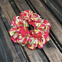 Paisley Print Summer Hair Scrunchies Ponytail Holder Handmade Scrunchie ... - $5.00