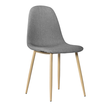 4pcs Modern Style Simple Dining Chair Gray - $157.50