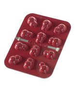 Nordic Ware 12-Cavity Snowman Cake Pops Pan, Red - $10.77