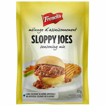 12 Sloppy Joe Seasoning Mix French's Sauce 43g Each -From Canada FRESH Delicious - $34.09