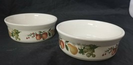 """Wedgwood Quince Oval Dessert Bowls Set of 2, 5.25"""" Made England Oven to ... - $24.18"""
