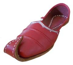 Men Shoes Indian Handmade Traditional Khussa Espadrilles Leather Jutties US 9.5  - $39.99
