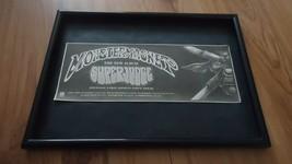 MONSTER MAGNET superhudge-framed original advert - $14.90