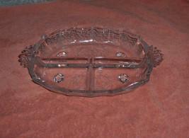 Vntage Fostoria Crystal Navarre Baroque Relish Dish - $44.55