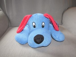 Nanco Terrycloth Terry Stuffed Plush Puppy Dog Blue Red PV-TLD14 New - $65.83