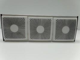 Starburst Light Fixture Sconce Black White Push Button Marvel F8T5/C W N... - $69.99
