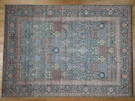10'x14' Silk With Oxidized Wool Vases Design HandKnotted Oriental Rug G4... - $4,180.09
