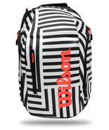 Wilson Super Tour Tennis Backpack Bold Edition Badminton Squash Racquet WR800160 - £62.31 GBP