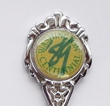 Collector Souvenir Spoon USA Washington 1989 Centennial - $3.99