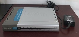 2.4GHZ Wireless Broadband Router DI-714P+/D-LINK With Adopter - $18.70