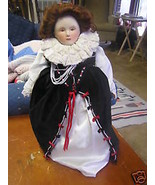 Beautiful FRANKLIN HERITAGE 1982 Queen Elizabeth I Doll....SALE - $67.32