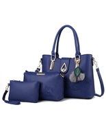 New 3-Piece Set Handbags Women Shoulder Bags Women Purses Tote Bags YG10... - €37,94 EUR