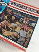 "Vintage 30s Jaymar Americana Puzzle- #4000 ""Beach Picnic""  image 5"