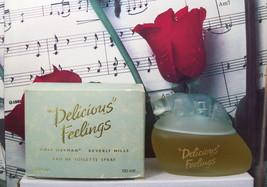 Delicious Feelings By Gale Hayman EDT Spray 3.4 FL. OZ. NWB. Vintage. - $44.99