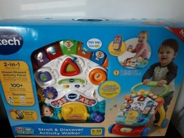 VTech Stroll and Discover Activity Walker Unisex Educational Toy Learnin... - $49.45