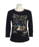 "Jess N Jane ""Boy Voyage"" Dressy Ladies Ladies Rhinestone Bling Tee Shirt... - $37.99"
