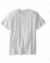 NWT Champion Mens Classic Jersey C Logo T-Shirt White Medium Embroidered... - $14.20