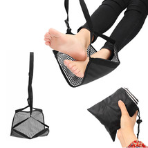 Portable Travel Cotton Knitted Footrest Flight Carry-on Foot Hammock Rest - $18.74 CAD