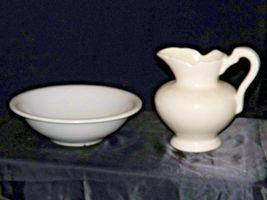 Ceramic McCoy 7516 USA Washbowl and Pitcher AA18-1344 Vintage image 4