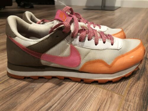 NIKE Womens Air Pegasus Orange Pink Running Workout Shoe Sz 8.5