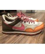 NIKE Womens Air Pegasus Orange Pink Running Workout Shoe Sz 8.5 - $24.42