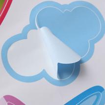 New Hot Air Balloon Planes Cloud Sky DIY Wall Sticker Home Decal Kids Ro... - $7.06