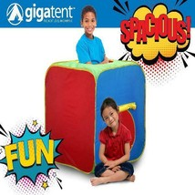 Kids Play tent Fun Cube GigaTent Easy Setup No Tools Required - $15.91
