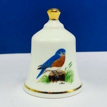 Danbury Mint state bird Bell porcelain collection Missouri eastern blueb... - $14.85