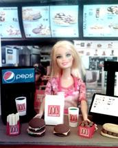 Barbie Sized McDonald's Restaurant Play Set Toy - $22.99