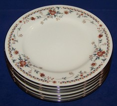 """Lovely Set Of 6 Noritake Ivory China 7237 Adagio 6 3/8"""" Bread & Butter Plates - $33.65"""