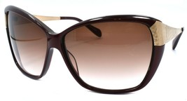 Oliver Peoples Skyla ROC Women's Sunglasses Cat Eye Burgundy & Gold / Brown - $76.53