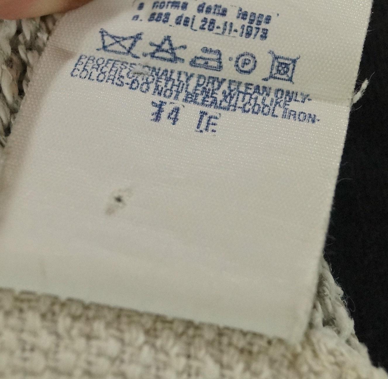 "D&G Jumper Large 44"" Chest DOLCE & GABBANA Ivory & Grey Women's Unisex Sweater"