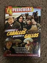 Carreras de Caballos y Apuestas de Gallo  NEW DVD W/SLIP COVER - $23.40