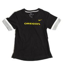 NWT New Oregon Ducks Nike Girl's Fan V-Neck XL T-Shirt - $16.78