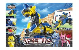 Miniforce Argen Base Super Dinosaur Power Transformation Toy Action Figure image 4