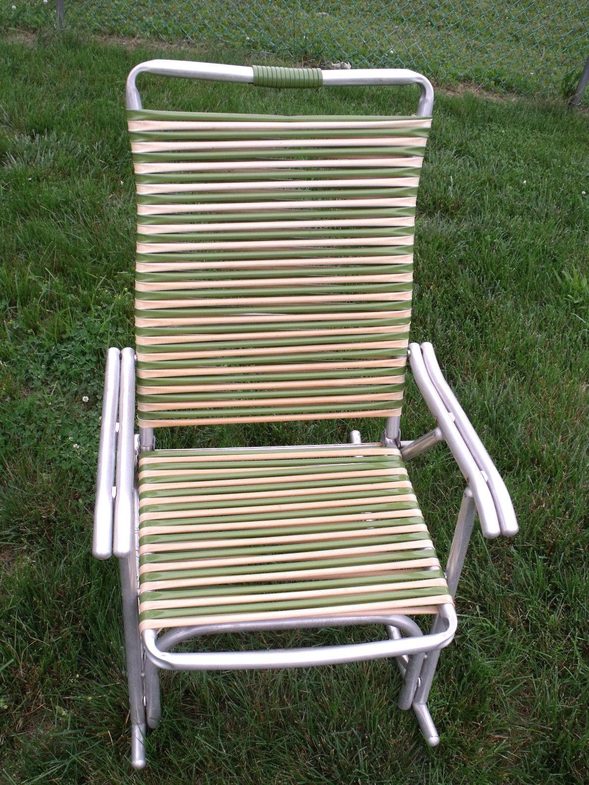 Brilliant Vintage Mid Century Aluminum Two Tone Tube And 50 Similar Items Machost Co Dining Chair Design Ideas Machostcouk