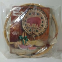 """Rusty Pig Hoop Applique Kit Yours Truly 15"""" - $9.74"""