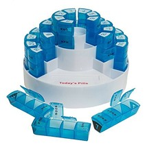 Monthly Pill Box Medication Compartments - $449,94 MXN