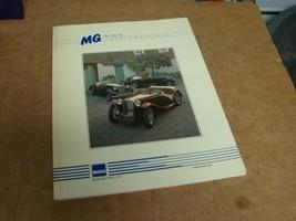 Moss Motors parts catalog MGT-20 for MG TC, TD, TF vehicles - $10.89