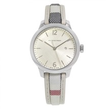 Burberry BU10113 The Classic Round Beige Dial Ladies Watch 32 mm - Warranty - $372.00