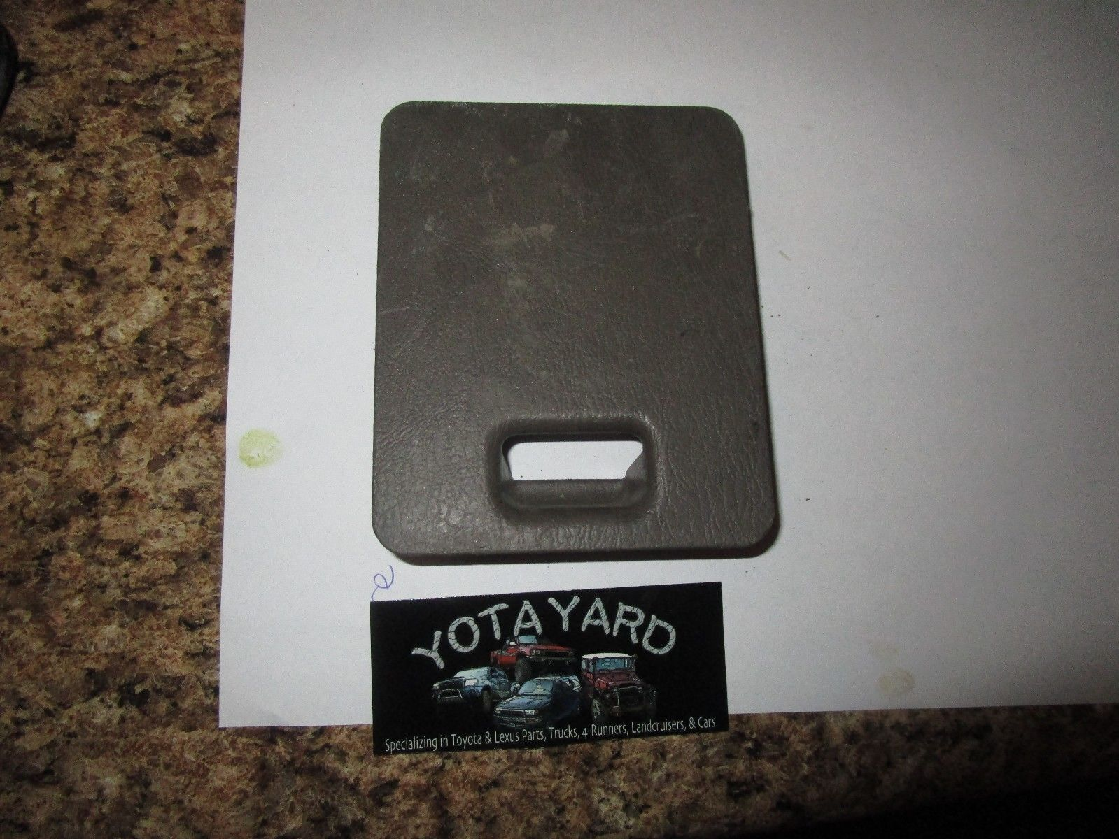1996-2002 Toyota 4RUNNER Fuse Box Cover and similar items. S l1600