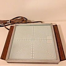 Vintage Salton Hotray H107 Automatic Food Warmer Hotplate Made In US 150... - $19.70