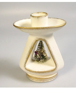 HOLT HOWARD Christmas Candle holder Bottle brush tree Christmas decoration - $81.24