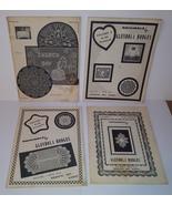 Glendola hodges crochet pattern vintage books 1 2 3   4 lot thumbtall