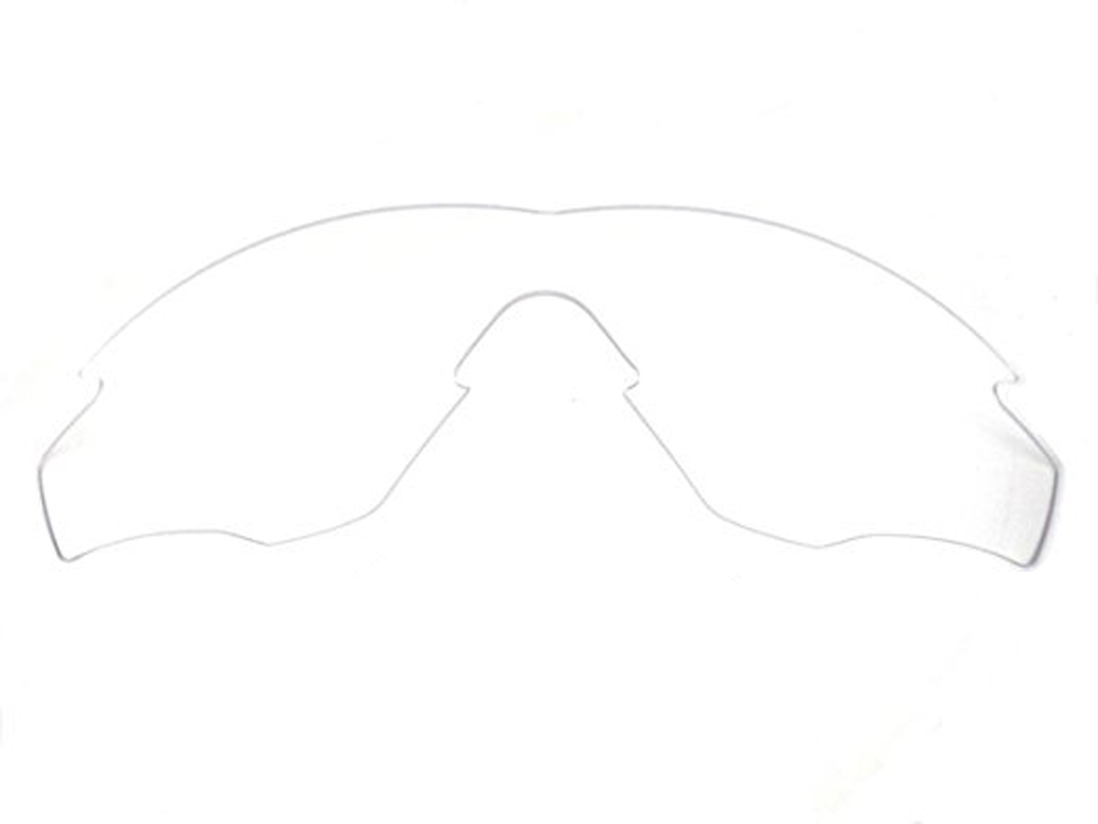 Primary image for Replacement Lenses for Oakley M2 Frame Sunglasses Anti-Scratch Crystal Clear