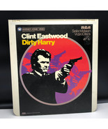 SELECTAVISION VIDEO DISC vintage videodisc movie ced Dirty Harry Clint E... - $39.55