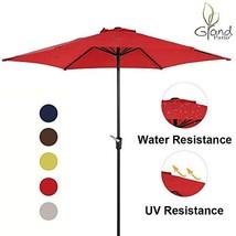 Grand Patio 9 FT Aluminum Patio Umbrella, UV Protected Outdoor Umbrella ... - £36.24 GBP